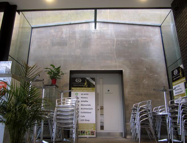 Veon Glass Bespoke Structural Solutions Link Arnos Vale Cemetery Re Development Bristol