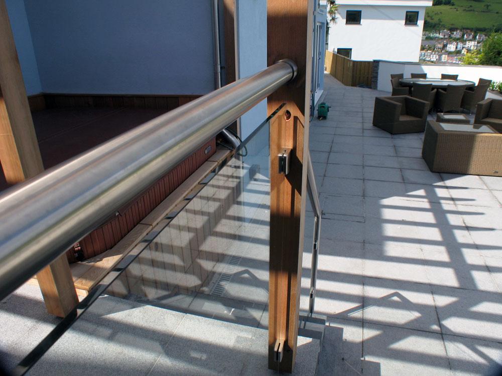 Glass balustrade systems devon